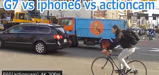 4KアクションカムをLUMIX G7とiphone6で画質を比較【あやしい中華】