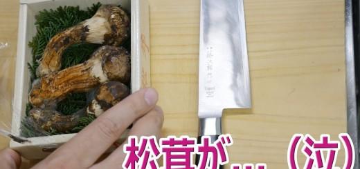 松茸を買ってきました…(泣) 【楽しい中食】