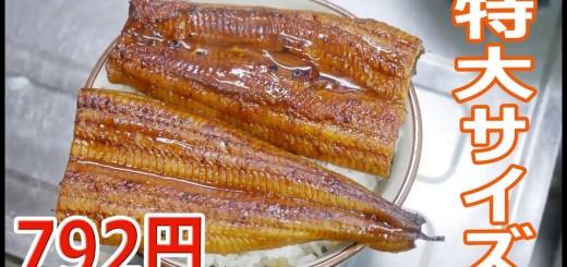 特大うなぎの蒲焼が792円 【楽しい中食】