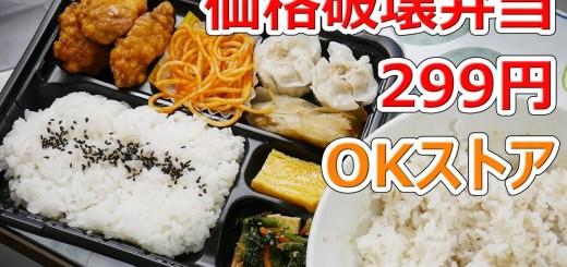 【価格破壊】OKストアの唐揚シュウマイ弁当がやばい【楽しい中食】